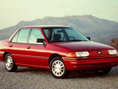 1989 ford escort gt specs